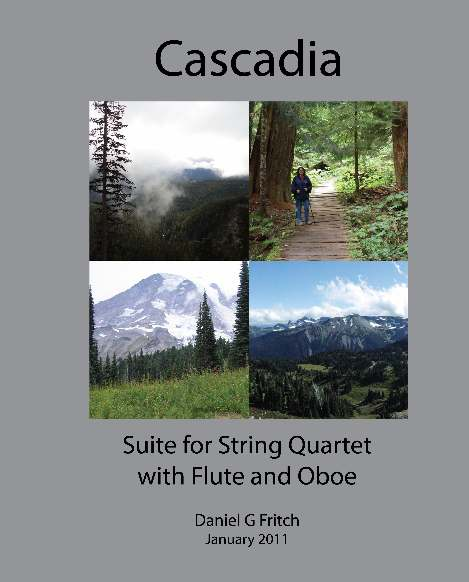 Sheet music for Cascadia Suite